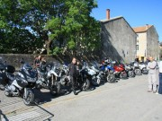 Balade moto «La Grive» en Cévennes du 13 mai 2012 - thumbnail #85