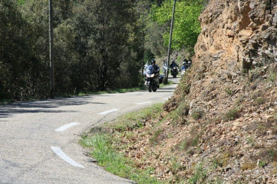 Balade moto «La Grive» en Cévennes du 13 mai 2012 - large #1