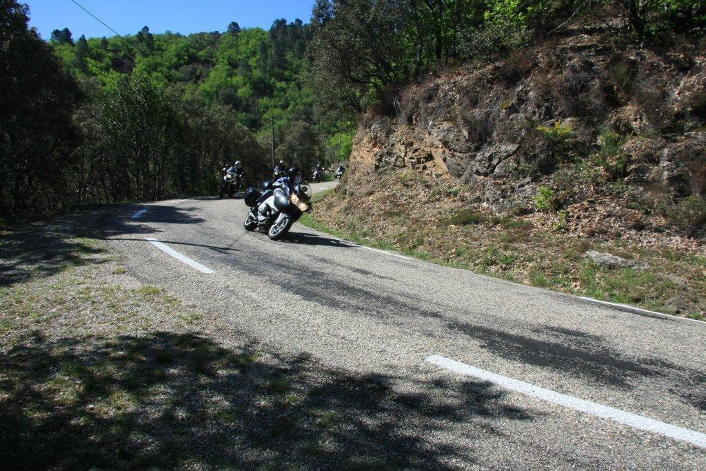 Balade moto «La Grive» en Cévennes du 13 mai 2012 - medium
