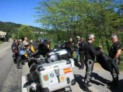 Balade moto «La Grive» en Cévennes du 13 mai 2012 - thumbnail #78