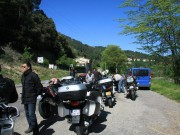 Balade moto «La Grive» en Cévennes du 13 mai 2012 - thumbnail #82
