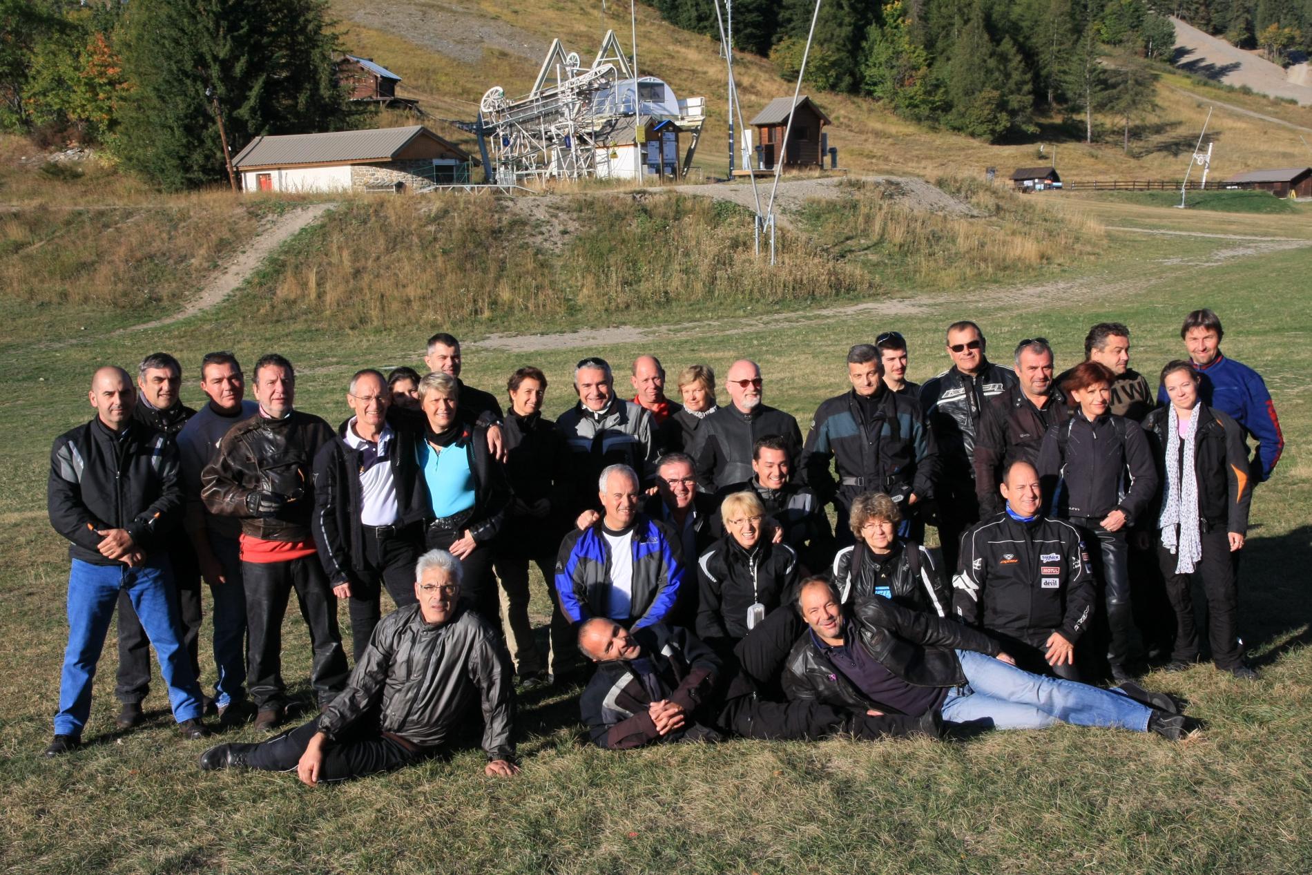 Week-end moto à Pra Loup les 22 et 23 septembre 2012 - medium