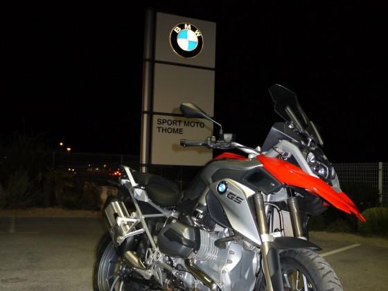 Évènement exceptionnel : Présentation de la nouvelle BMW R1200GS - large #1