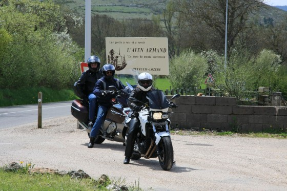 Balade moto en Cévennes le 05 mai 2013 - large #1