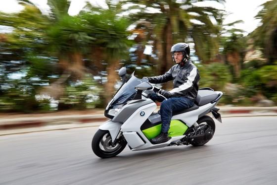 Scooter électrique : BMW C evolution - large #1