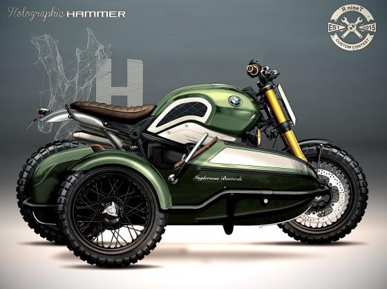 BMW R nineT «L'Echappée Belle» - large #1