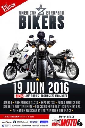 Journée American European Bikers - large #1