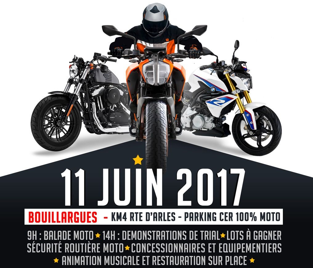 Balade moto CER 100% MOTO le 11 juin - medium