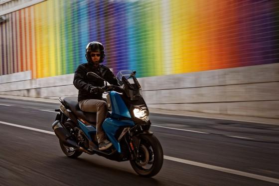 Le nouveau scooter BMW C 400 X. - large #1