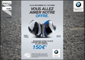 OPERATION BMW Helmets REPRISE DE VOTRE ANCIEN CASQUE - medium