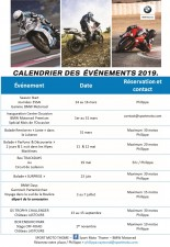 CALENDRIER DES EVENEMENTS 2019 - medium