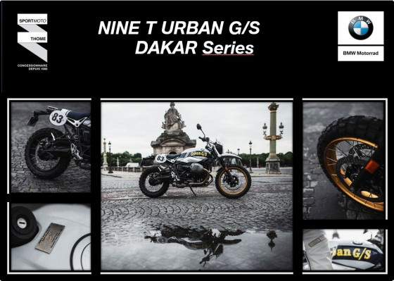 [NINE T URBAN G/S DAKAR Series] - large #1