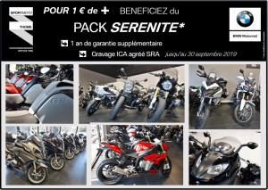 [CENTRE OCCASION BMW Motorrad Premium Selection] – PACK SERENITE pour 1€ de + - medium