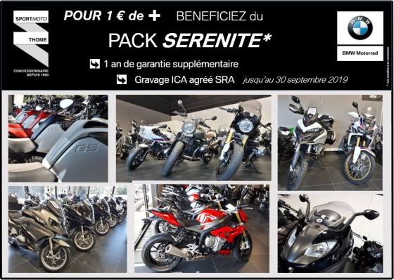 [CENTRE OCCASION BMW Motorrad Premium Selection] – PACK SERENITE pour 1€ de + - large #1