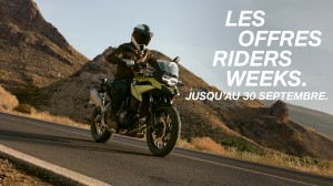 [RIDERS WEEKS] – jusqu'au 30 septembre 2019 - medium