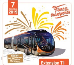 [INAUGURATION du TRAM BUS] – Nîmes Centre Ville à Caissargues - medium