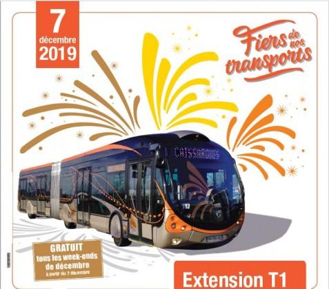 [INAUGURATION du TRAM BUS] – Nîmes Centre Ville à Caissargues - large #1