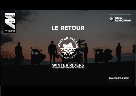[WINTER RIDE – LE RETOUR] - large #1