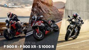 Faites le plein de sensations avec nos BMW F 900 R, F 900 XR et S 1000 R Shifter Edition. - medium